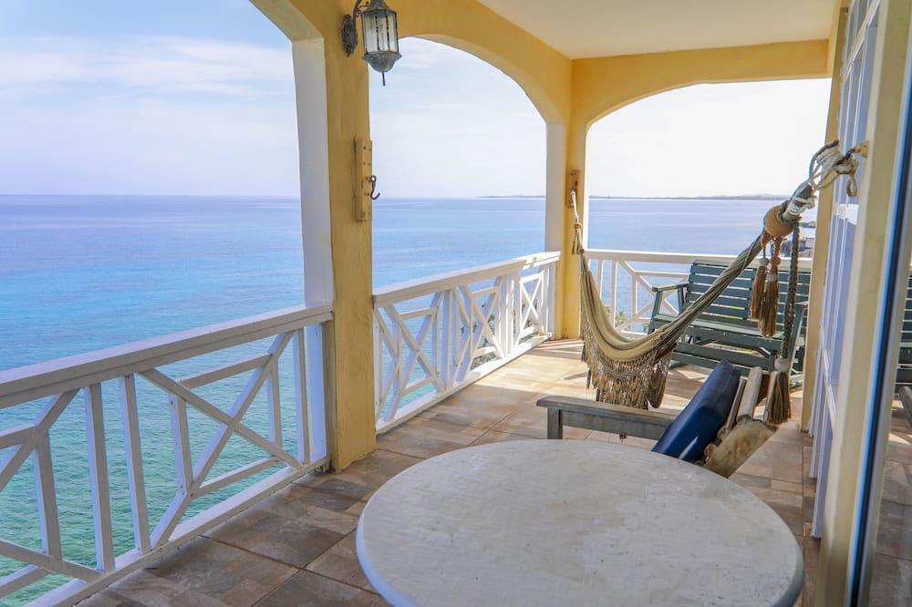 חדר דה-לוקס, 2 מיטות זוגיות, נוף לים - תמונה