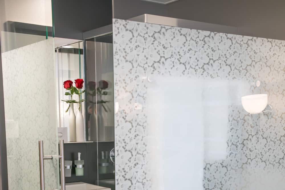 Basic-Einzelzimmer - Badezimmer