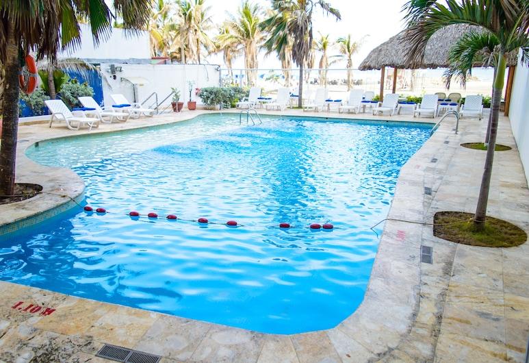 Hotel Playa Club, Cartagena, Außenpool