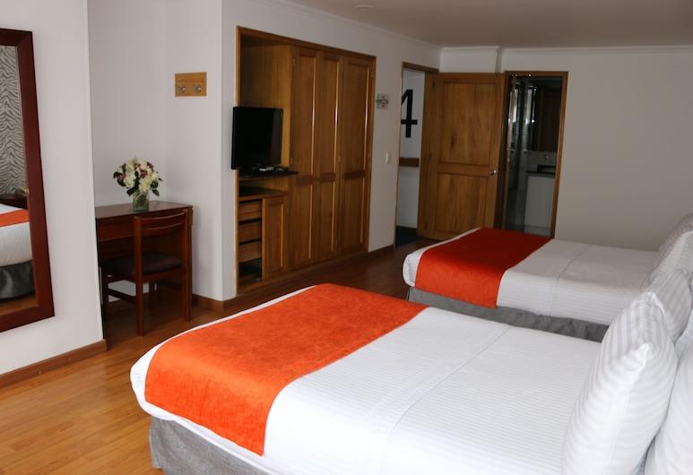 Hotel Breton Hill Parque 93, Bogotá, Habitación con 2 camas individuales, Habitación