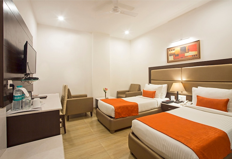 Hotel Shanti Palace, New Delhi, Deluxe Double or Twin Room, Guest Room