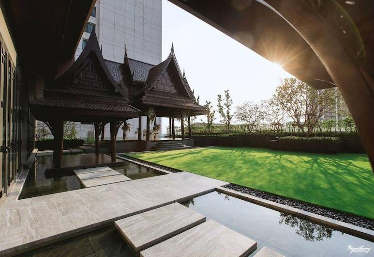 大里奇蒙風格會議中心酒店, 暖武里府, 花園