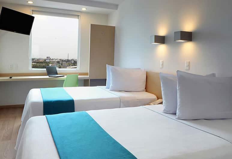 One Ciudad de Mexico Patriotismo, Mexico City, Superior Room, 2 Double Beds, Guest Room