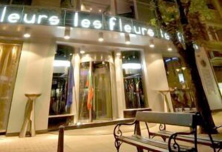 Les Fleurs Boutique Hotel, Sofie, Vchod do hotelu