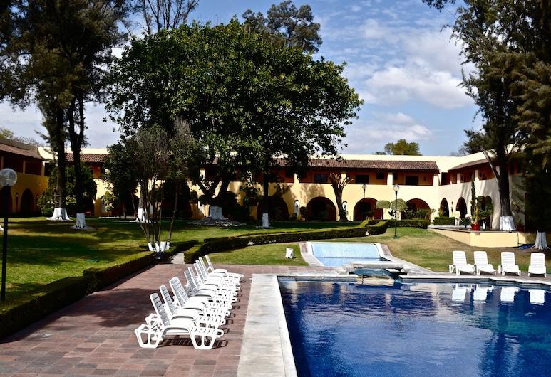 Casa Cantarranas, Tehuacan, สระว่ายน้ำกลางแจ้ง