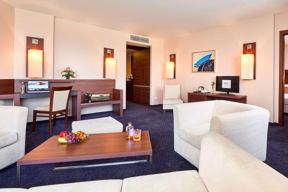 Junior Suite, 1 Bedroom - Living Area