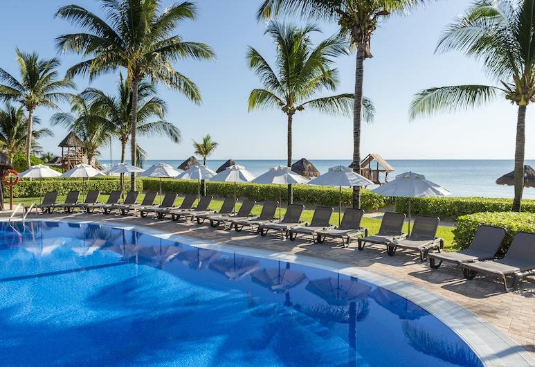 綠松石海洋珊瑚飯店 - 全包式, 莫雷洛斯港, 室外游泳池