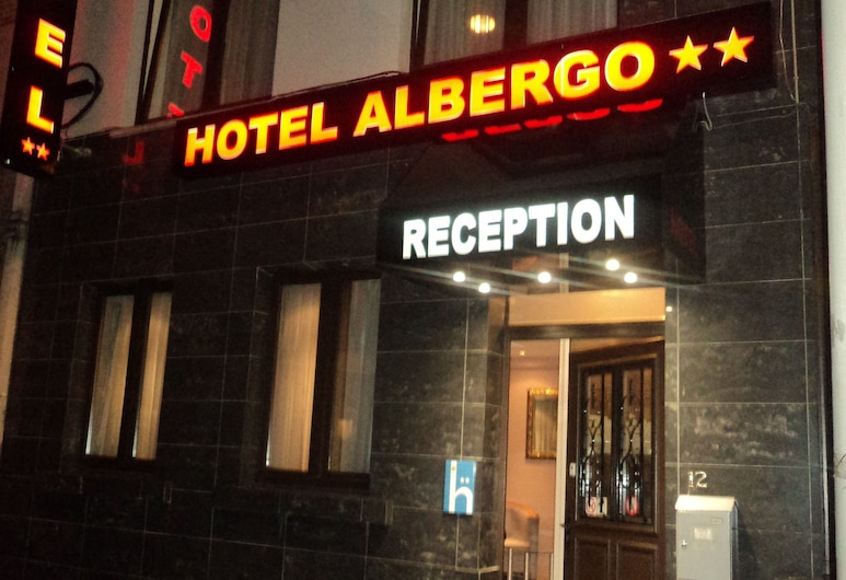 Hotel Albergo, BRUSEL, Exteriér