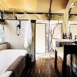 Deluxe safari tent - Vonios kambarys