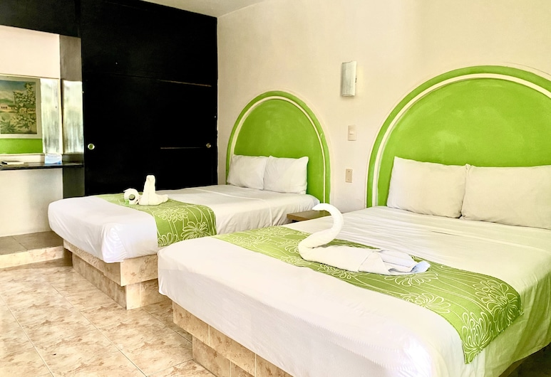 Hotel HC Internacional, Cancun, Standard Room, 2 Double Beds, Guest Room