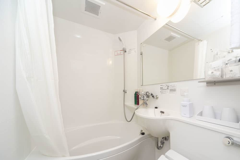 Economy Double Room, Smoking - Bathroom