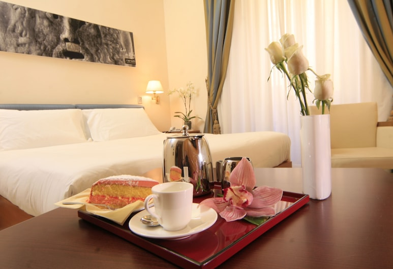 Crosti Hotel, Rome, Standard Double or Twin Room, Guest Room