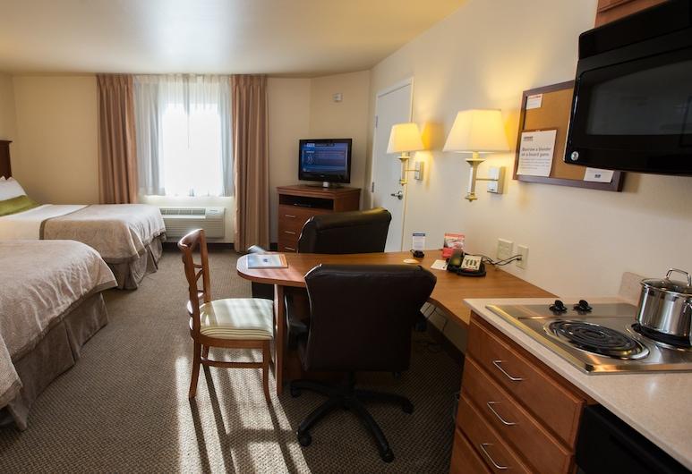 Candlewood Suites South - Springfield, ספרינגפילד, סוויטת סטודיו, 2 מיטות זוגיות, ללא עישון, חדר אורחים
