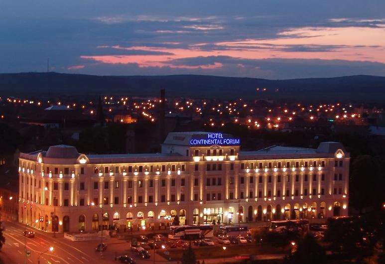 Continental Forum Sibiu, Sibiu, Hotel Front – Evening/Night