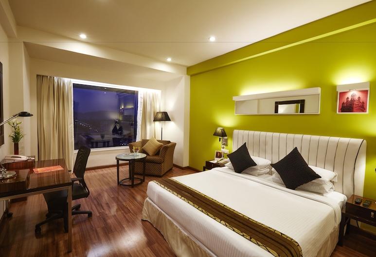 The Gateway Hotel M G Road, Vijayawada, Chambre Exécutive, 1 très grand lit, vue colline, Chambre