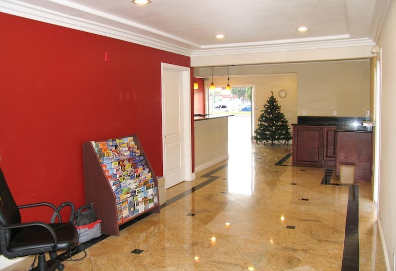 Chateau Inn and Suites, Downey, Lobby