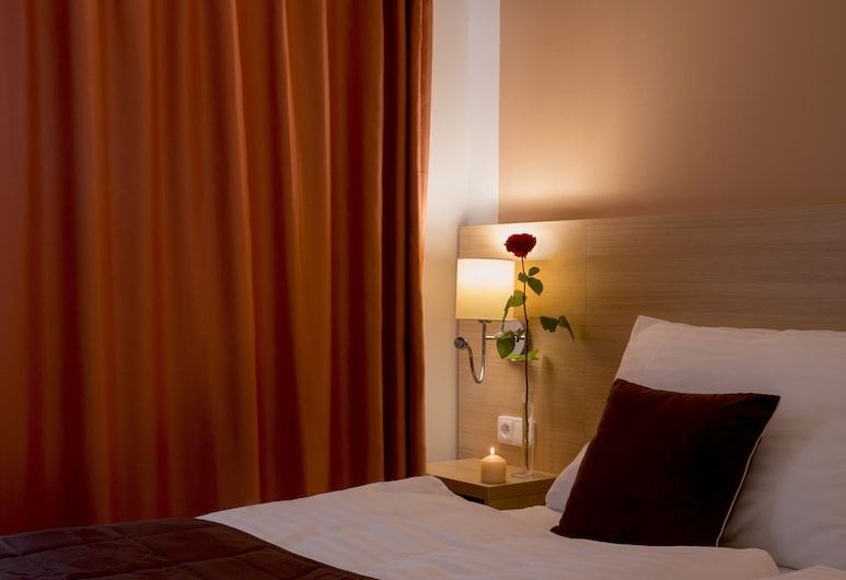 Hotel Karlin, Praga, Quarto casal luxo, Quarto