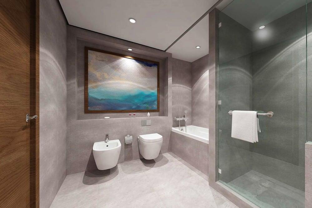 ดีลักซ์อพาร์ทเมนท์, 3 ห้องนอน - ห้องน้ำ