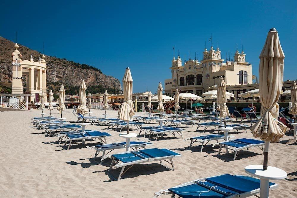 Mondello Palace Hotel Palermo Beach
