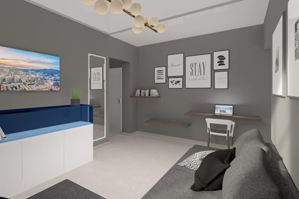 Suite, Annex Building - Living Area
