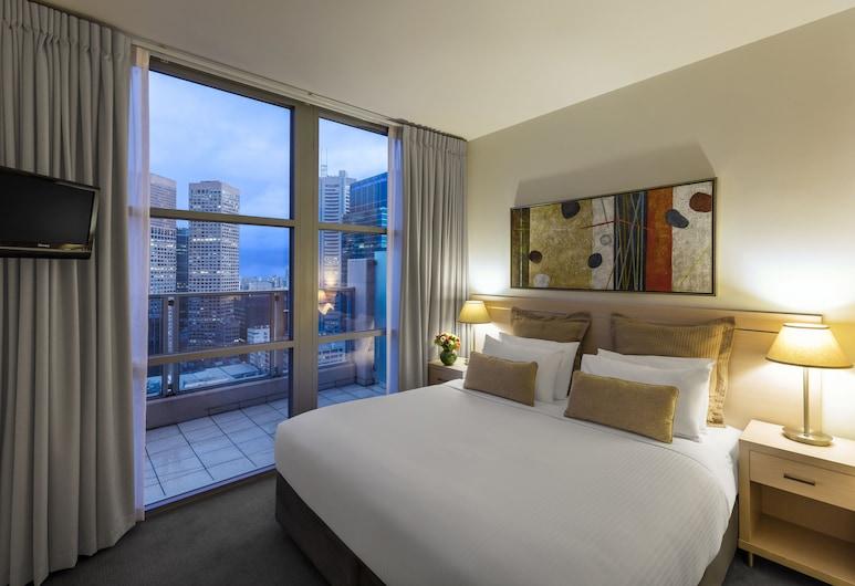 Oaks Melbourne on Lonsdale Suites, Melbourne, Apartamento, 1 quarto, Quarto