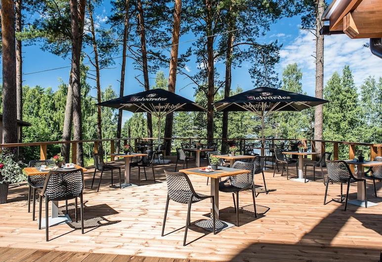 Hotel Baltvilla, Riga, Terraza o patio
