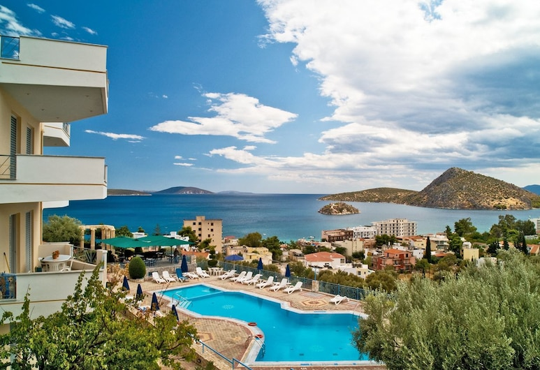 Panorama Hotel and Apartments, Nafplio, Property Grounds