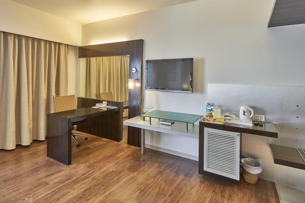 Представительский номер, 1 двуспальная кровать «Кинг-сайз» - Зона гостиной