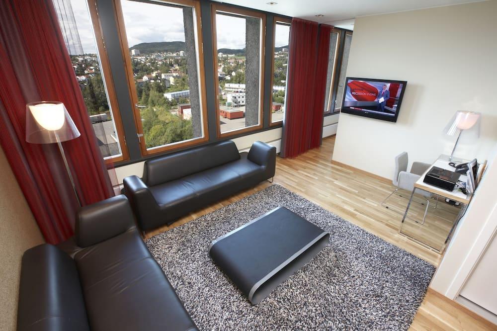Suite, 1 tweepersoonsbed, niet-roken - Woonruimte