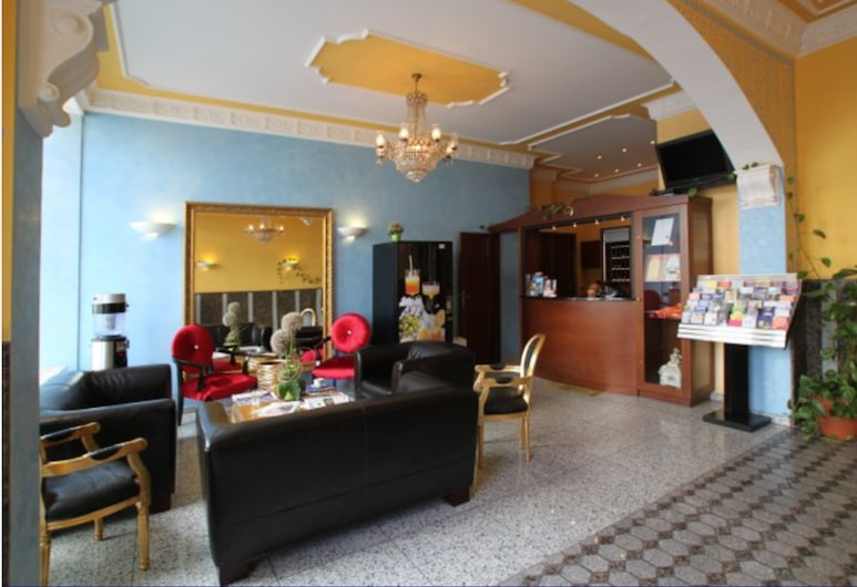 Hotel Atlas Residence, Múnich, Recepción