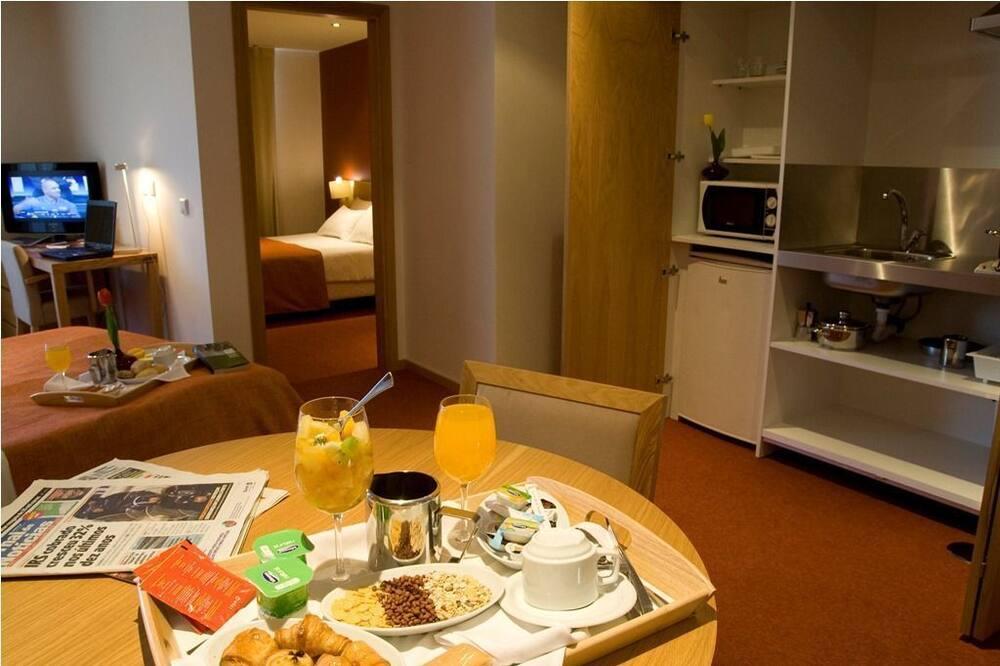 شقة - غرفة نوم واحدة (3 People) - تناول الطعام داخل الغرفة