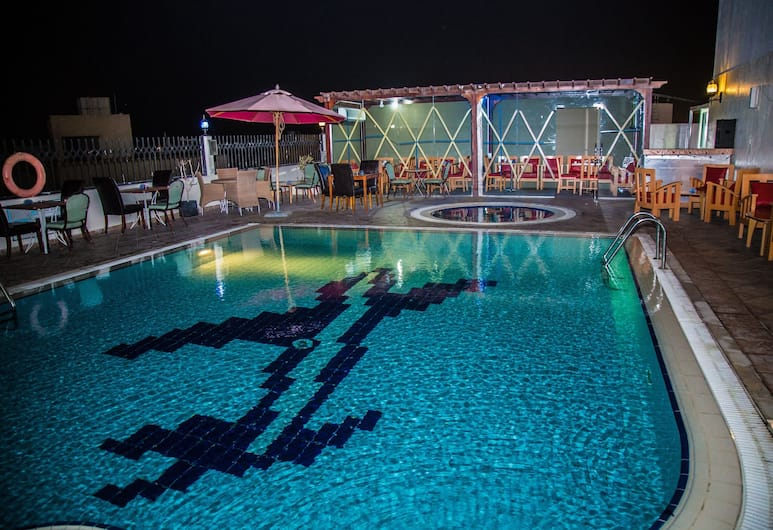 Saffron Boutique Hotel, Dubai, Outdoor Pool