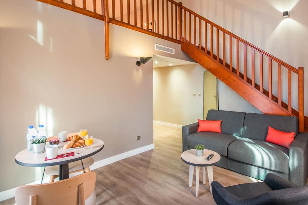 Apart Daire, 1 Yatak Odası (New Generation) - Oturma Alanı