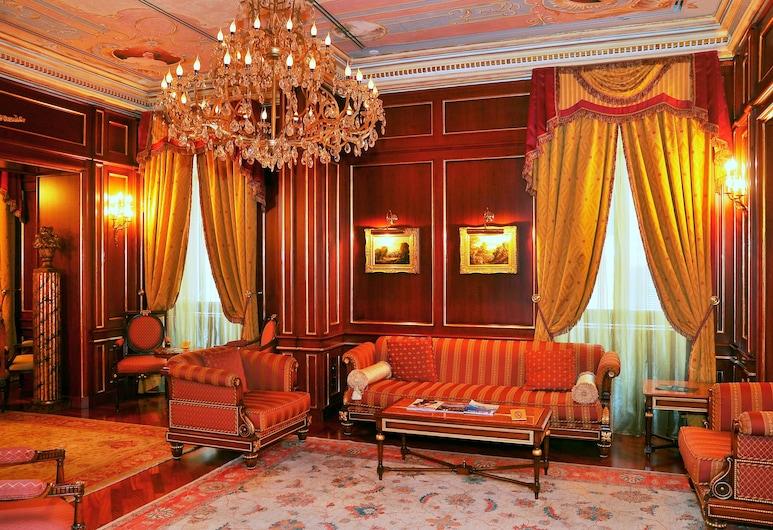 Grand Hotel Wagner, Palermo, Salón en el lobby