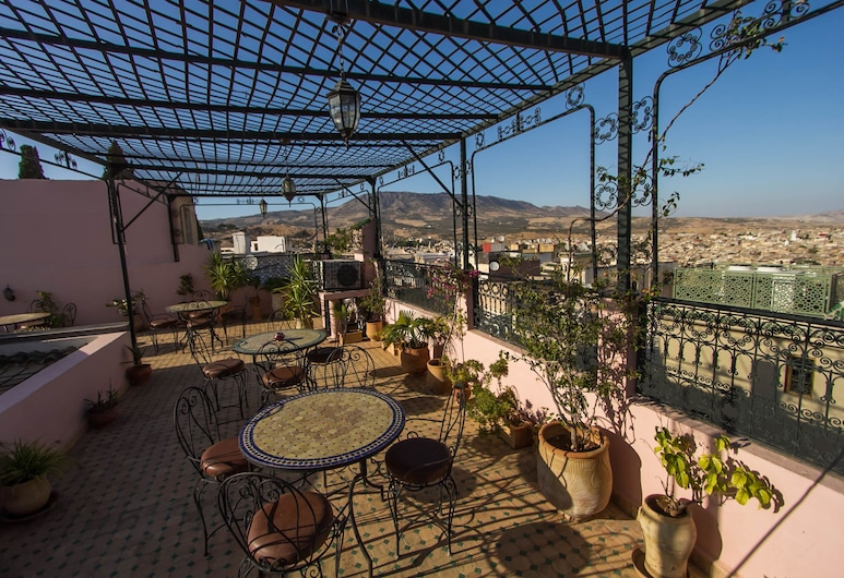 Riad dar Chrifa, Fes, Terrace/Patio