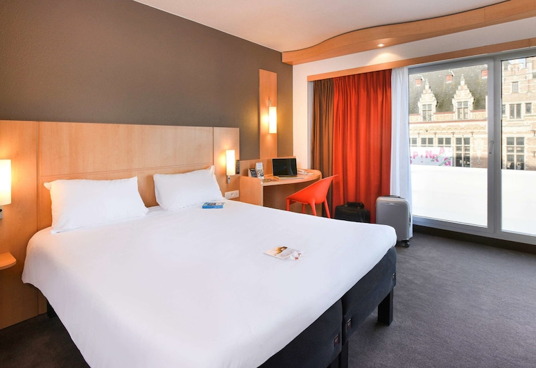 ibis Kortrijk Centrum, Kortrijk, Double Room, 1 Double Bed, Guest Room
