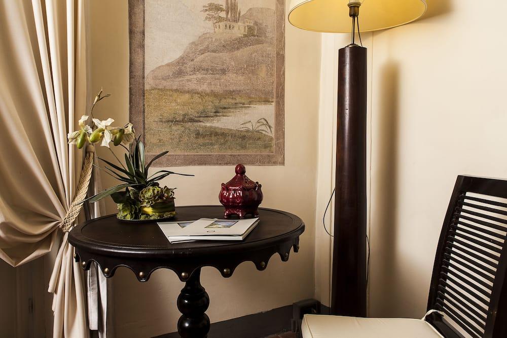 Superior kamer, 1 twee- of 2 eenpersoonsbedden - Woonruimte