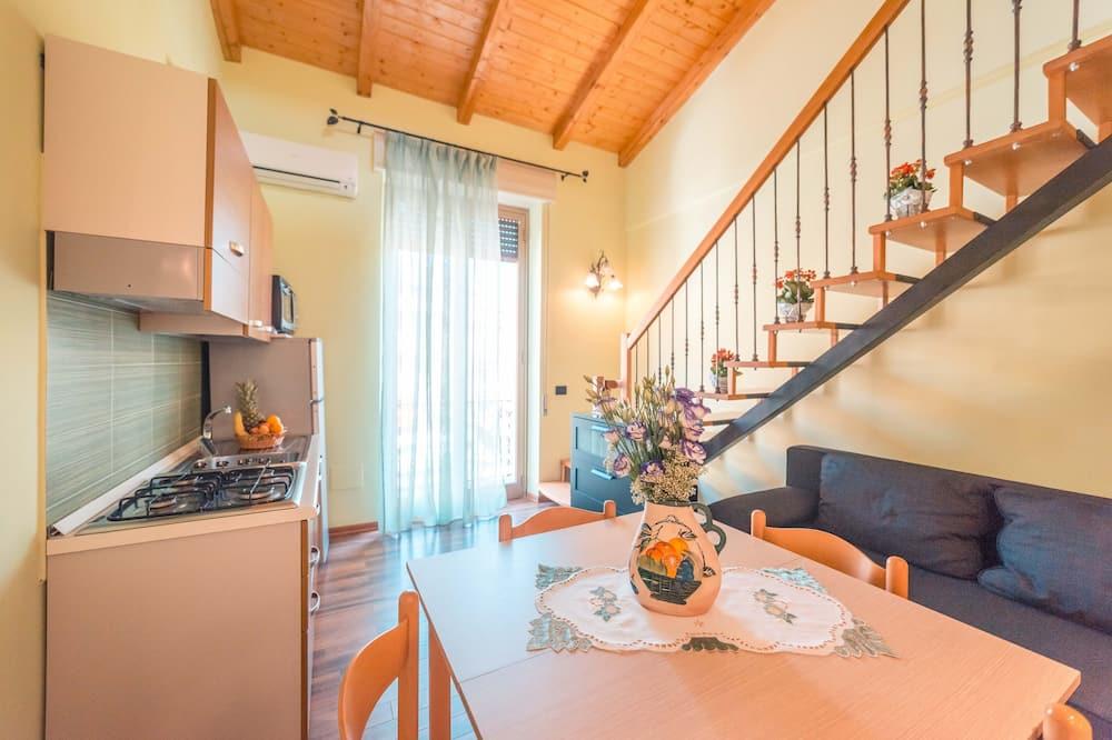Two Bedroom Apartment deluxe, split level - Living Area