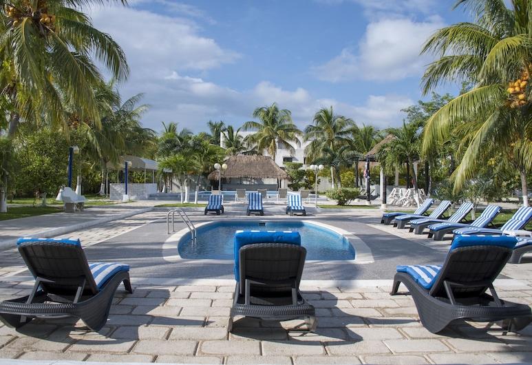 Calypso Hotel Cancun, Cancún, Venkovní bazén