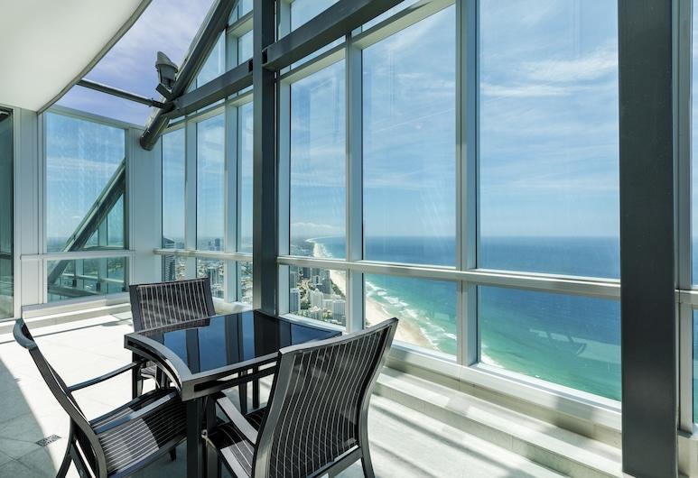 Q1 Resort & Spa, Surfers Paradise, Penthouse de lujo, 4 habitaciones, piscina privada, vista al mar, Vista desde la habitación