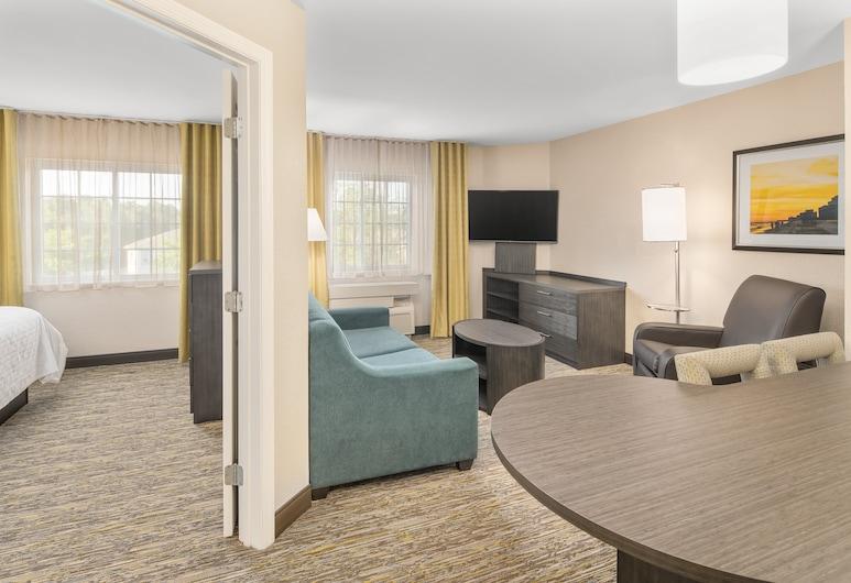 Candlewood Suites Destin-Sandestin, an IHG Hotel, חוף מירמאר, סוויטה, מיטת קווין, נגישות לנכים, ללא עישון (Roll In Shwr), חדר אורחים