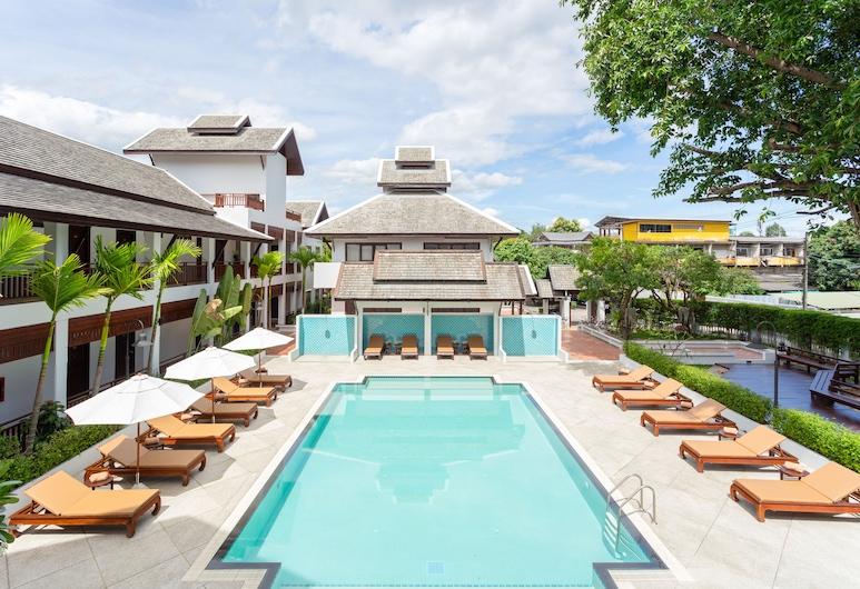 림핑 빌리지 호텔, 치앙마이, 야외 수영장