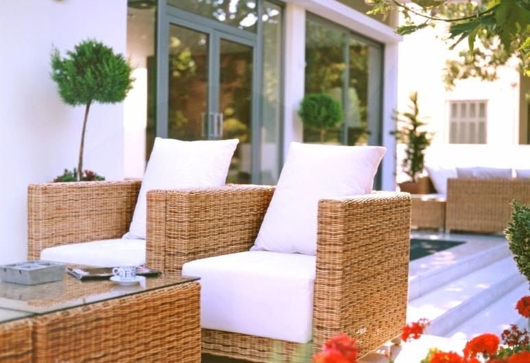 Angela Suites & Lobby, Rhodes, Terrace/Patio