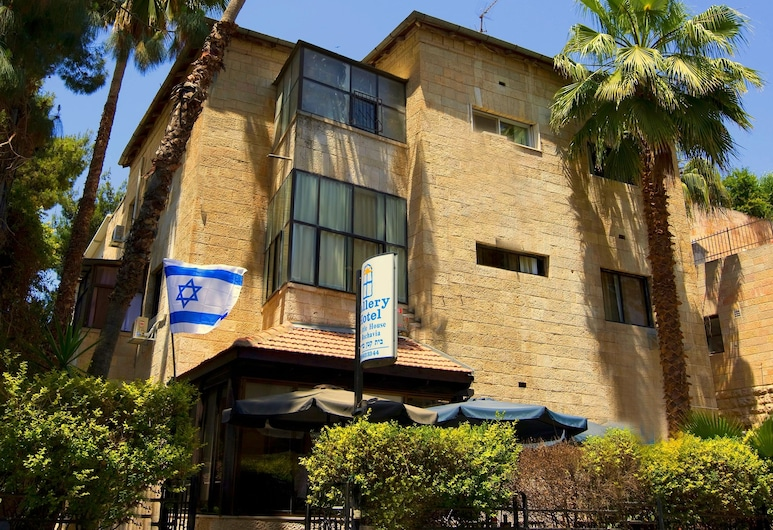 Little House in Rehavia, Jerusalem, Hotel Front