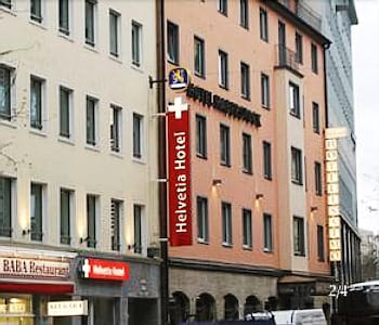 慕尼黑慕尼黑城中心赫爾維蒂亞酒店的圖片