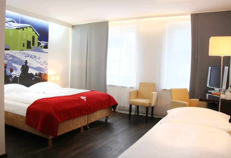 Helvetia Hotel Munich City Center, Monaco di Baviera, Tripla Standard, Camera