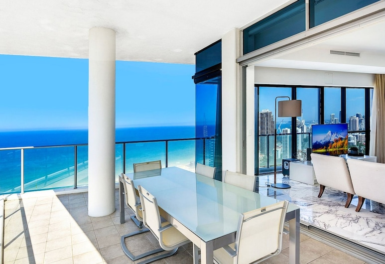Artique Surfers Paradise, Surfers Paradise,  3 Bedroom Penthouse, Terrace/Patio