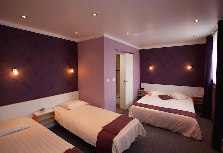 太陽酒店, 布魯塞爾, 標準三人房, 客房
