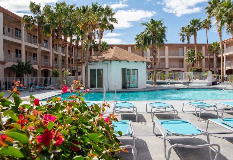 Aqua Soleil Hotel & Mineral Water Spa, Desert Hot Springs, Basen