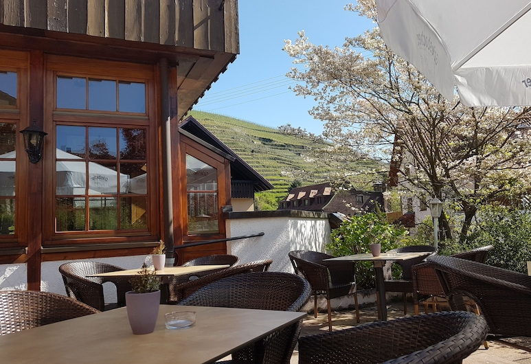 Hotel Altenberg, Baden Badenas, Terasa / vidinis kiemas